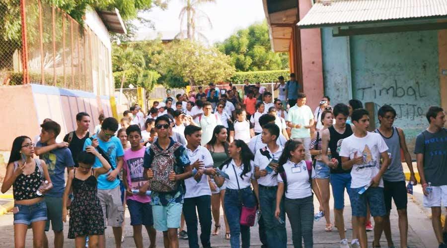 Colegios Dominicos de Centro América visitan Rivas Nicaragua