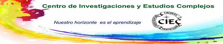 Banner y logo CIEC (Centro de Investigaciones y Estudios Complejos - UNIAG)