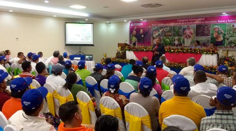 La UNIAG participa en el I Congreso Internacional para el incremento en la productividad de Hortalizas, Raices y Tuberculos