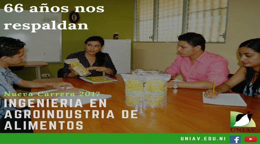 UNIAV. 66 años ingeniería en Agroindustria